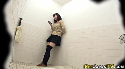 Asian, Peeing, Hairy teen