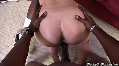 Interracial, Anal threesome