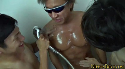 Muscle asian, Threesome asian, Asian hd