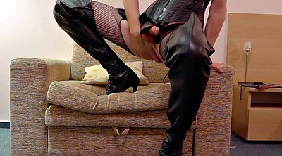 Boots, Leather, Boot, Boots anal, Hotel anal