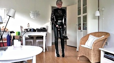Leather, Leather boots