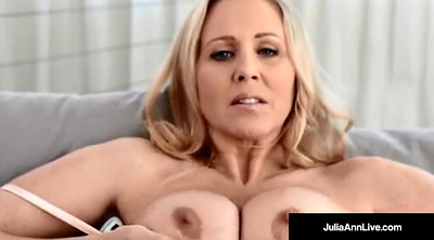 Julia ann, Big nipples