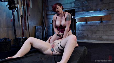 Latex, Face, Mistress t, Lesbian bondage, Tied up, Tied up anal