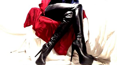 Latex boots, Pvc, Boot