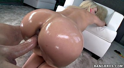 Anikka albrite, Blond ass, Pussy slide, All over