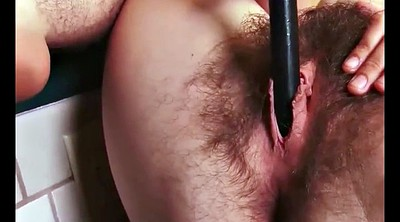 Hairy solo, Hairy pussy solo, Teen hairy, Stuffing