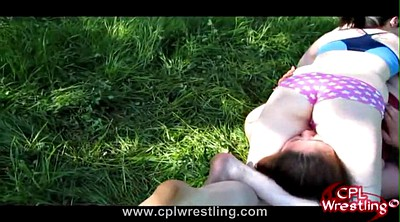 Facesitting, Wrestling, Wrestle, Hailey, Facesiting