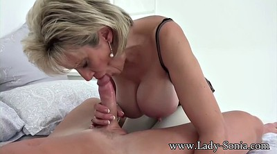 Mature blowjob, Lady sonia, Sonia