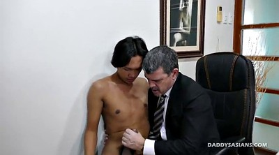 Young, Dad, Old asian, Asian cute