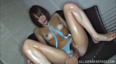 Japanese hairy pussy, Japanese oil, Vibrator orgasm, Japanese hairy