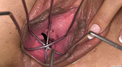 Gyno, Huge, Gaping pussy, Speculum, Pussy gaping, Huge toy