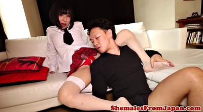 Japanese anal, Newhalf, Amateur anal
