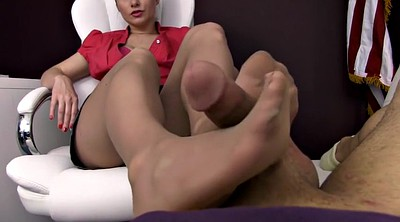 Footjob, Nylon feet, Nylon footjob, Nylon foot, Pantyhose feet, Footjob nylon