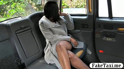 Taxi, Black woman, London, Naked