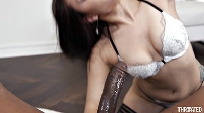 Huge black cock, Mouth fucking, Pov blowjob, Fuck mouth