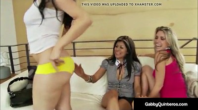 Lesbian party, Lesbo, Lesbians party, Latina threesome