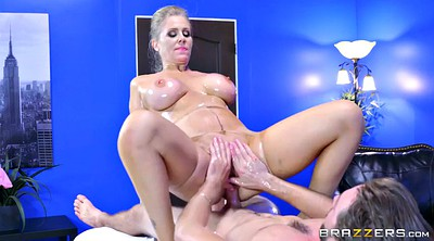 Julia ann, Oil massage, Ann