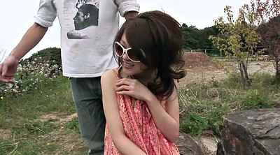 Japanese, Japanese couple, Japanese tits, Sunglasses, Japanese horny, Japanese outdoors