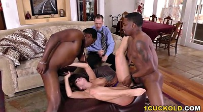 Husband, Cuckold husband, Wife dp, Wife double, Interracial cuckold, Cheating husband