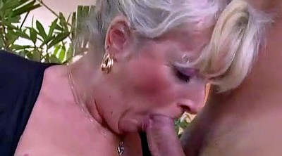 Bbw granny, Young mom