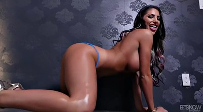 August ames, Expose, Chubby big tits, August ames solo