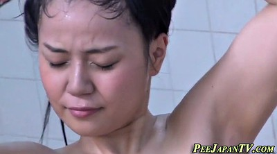 Pissing, Japanese pee, Japanese piss, Asian piss, Peeing, Japanese bath