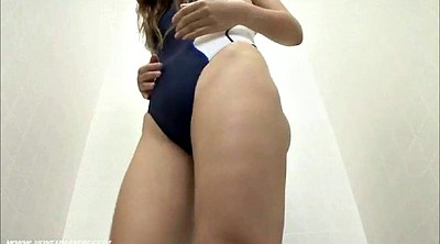 Asian, Swimsuit, Fitting room, Fitness
