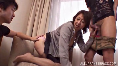 Mature asian, Two