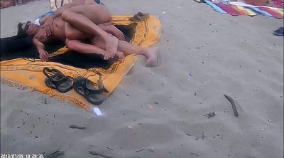 Fingering, Nudism, Beach sex