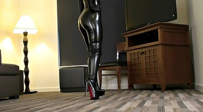 Boots, Boot, Gloves, Catsuit