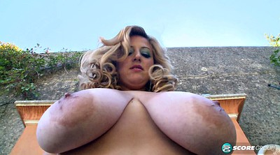 Solo shaved fingering, Breast