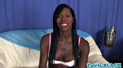 Tgirl, Ebony shemale, Camera