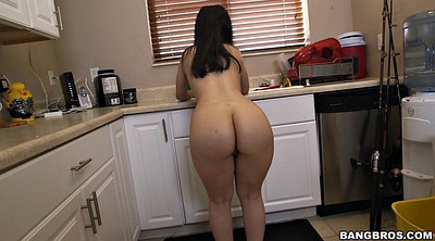 Pakistani, Kitchen, Big ass solo, Ass solo