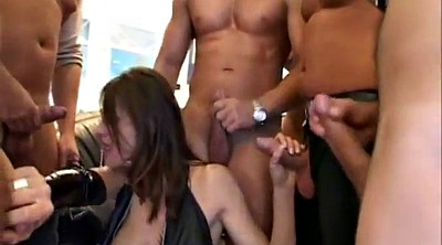 Bisexual, Extreme gangbang, Shemale group, Transsexual, Shemale group sex, Extreme anal