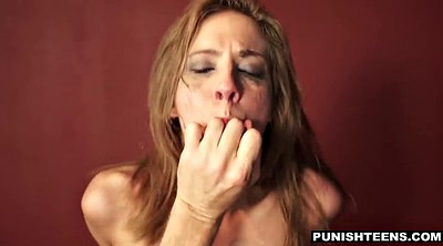 Punish, Young girl, Young throat