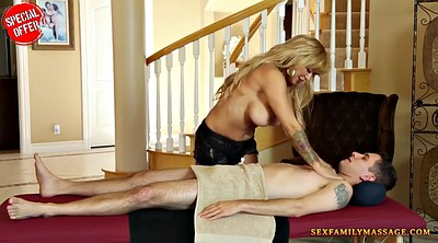 Brother, Brother sister, Trick, Trick massage, Sister massage, Big tits massage
