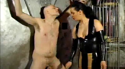Painful, Pain, Femdom spank, Dominatrix, Latex bondage