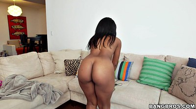 Maid, Clean, Big black ass, Big ass solo, Ebony maid, Ass teasing solo