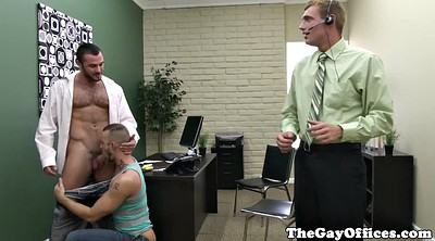 Gangbang, Office gay