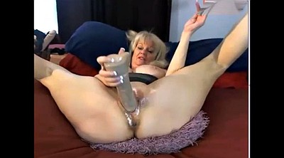 Mature masturbating, Mature webcam
