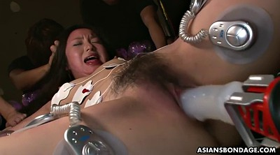 Electric, Torture, Japanese bondage, Japanese tits, Asian bdsm, Tit torture
