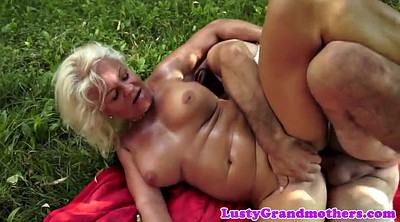 Mature anal, Mature outdoor