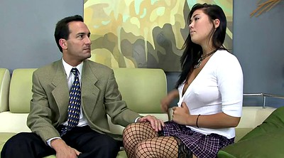 Stockings, Couch, Fishnet stocking