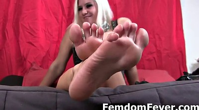 Foot femdom, Domination, Dominated