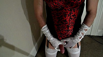 Crossdressers, White stocking, Crossdresser