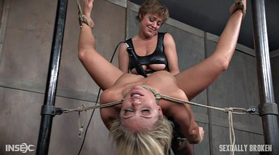 Blonde tied, Tie, Bondage fuck, Tied and fuck, Fuck slave, Slave throat