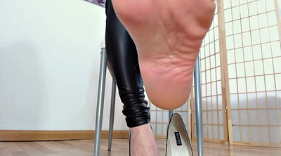 German, Mistress, Dirty talk, Mistress feet, Feet femdom, Mistress foot