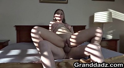 Old lady, Steele, Teen babe