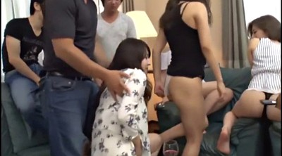 Japanese handjob, Japanese party, Japanese orgy, Striptease