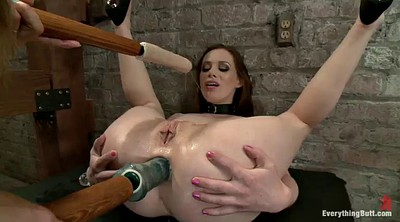 Enema, Vibrator, Mistress strapon